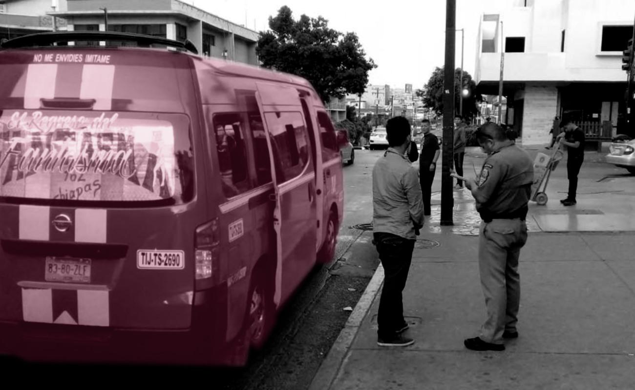 Se han aplicado cerca de 19 mil multas a transportistas de Tijuana durante el año