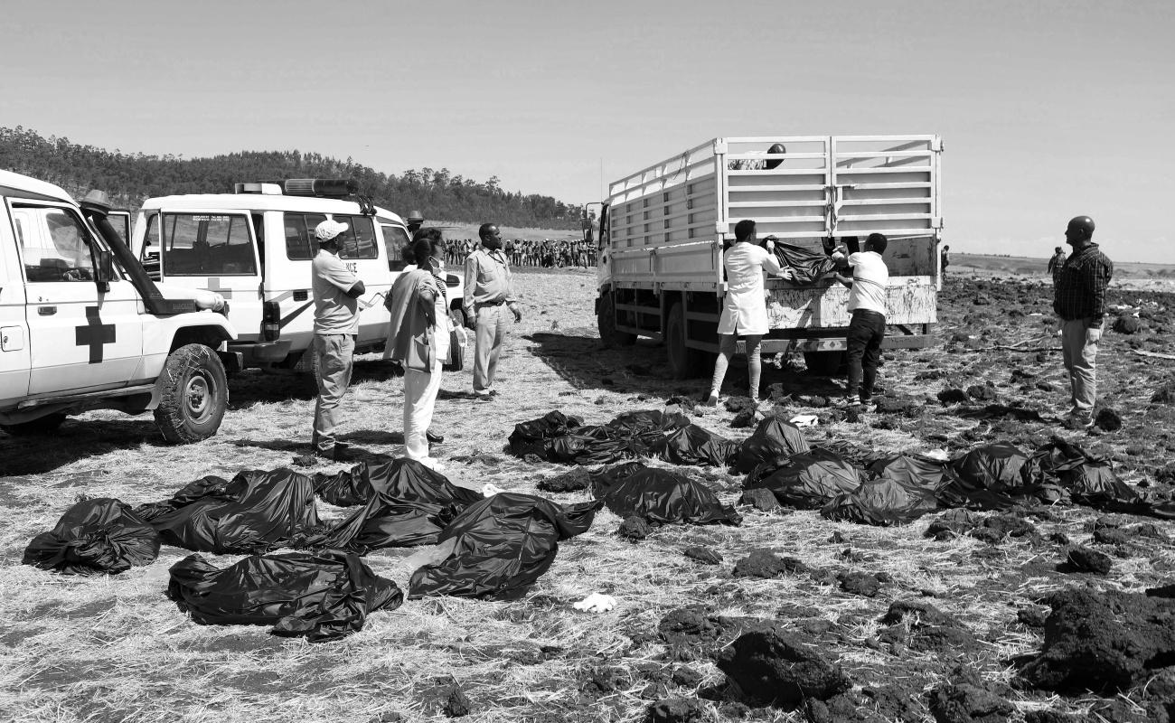 Reportan 157 muertos, de 35 nacionalidades, tras estrellarse avión en Etiopía