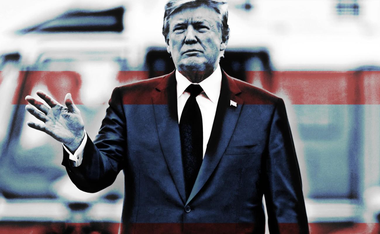 Arremete Trump contra Ejército Mexicano y Policía Federal; los llama incapaces por no detener caravana migrante