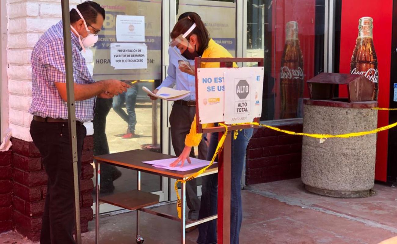 Abiertas al público la Secretaría del Trabajo y Junta de Conciliación en Mexicali
