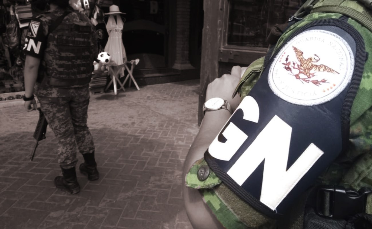 Llega la Guardia Nacional a Ensenada, recorre la zona turística