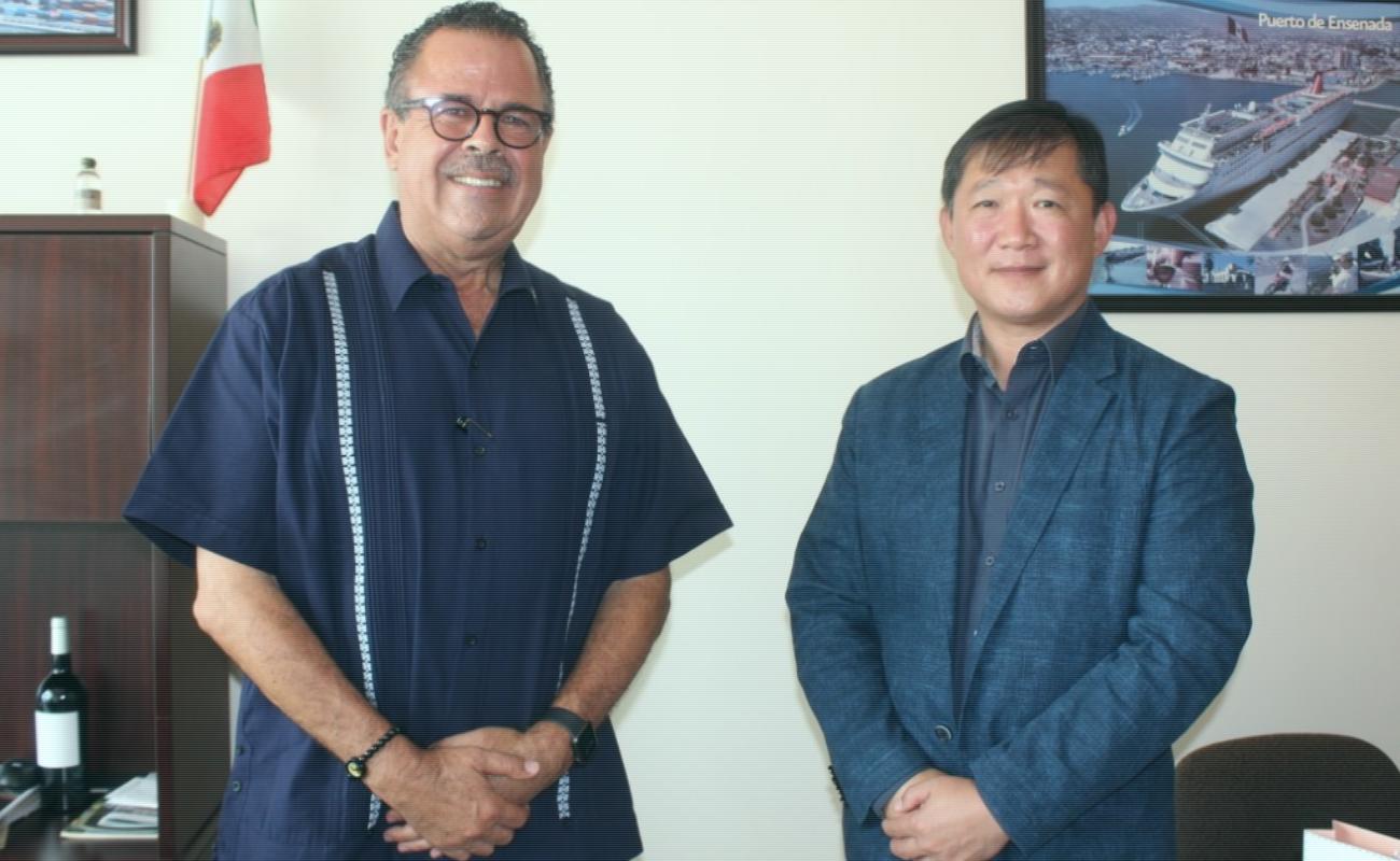 Destaca Mario Escobedo inversión consolidada de Corea del Sur en Baja California
