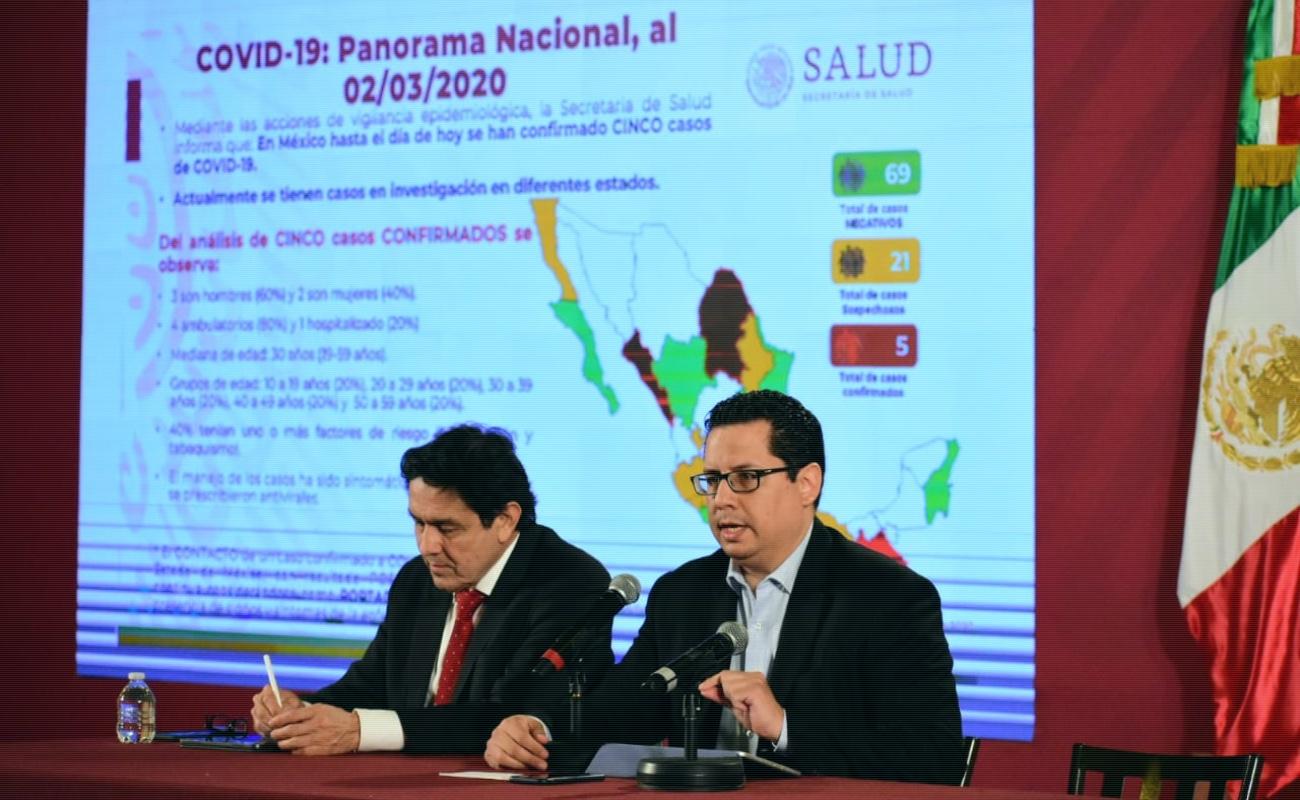 Dan de alta al primer caso de coronavirus en México
