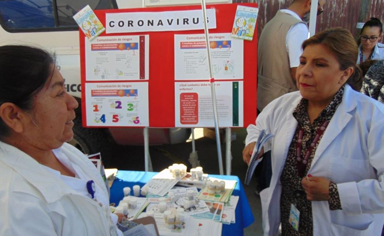 Valoración médica de viajeros a domicilio para descartar coronavirus en BC