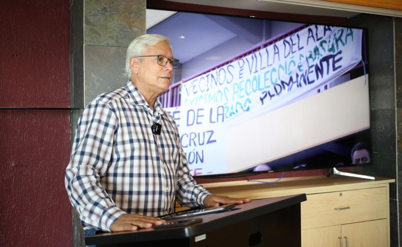 """""""No sé cómo decirle a algunos alcaldes que se apliquen"""": Jaime Bonilla"""
