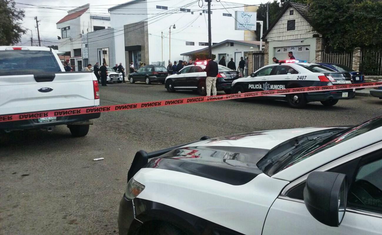 Despliegan operativo por doble asesinato frente a parque de la Obrera