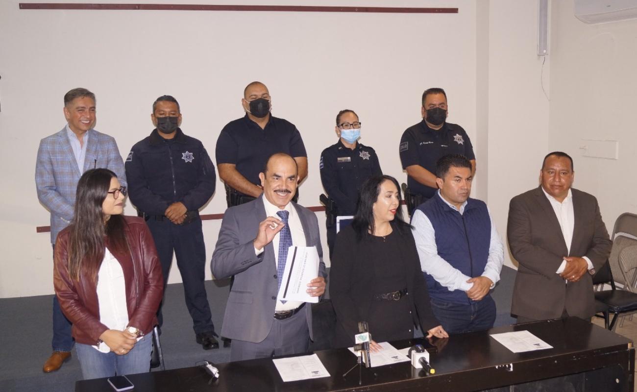 Toma protesta Francisco Arellano como secretario de Seguridad en Rosarito