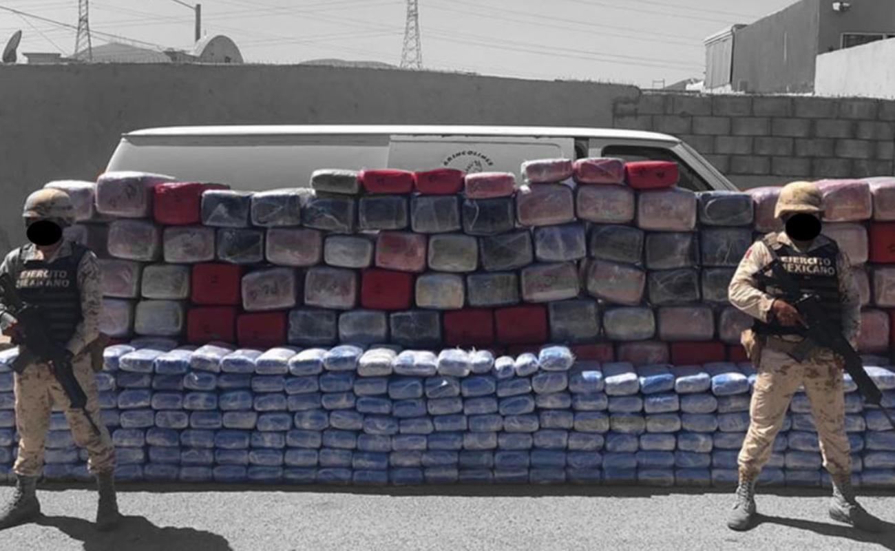 Aseguran mil 750 kilos de marihuana en Tijuana