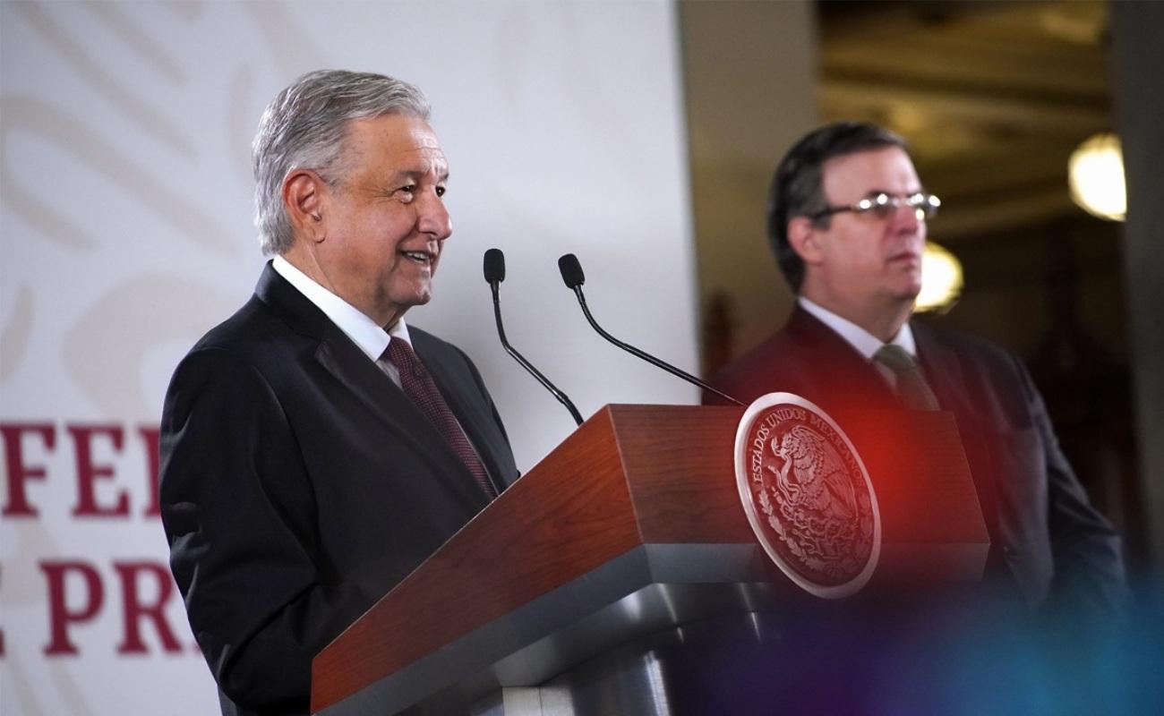 Afirma Ebrard que programas de AMLO benefician a 33 mil centroamericanos