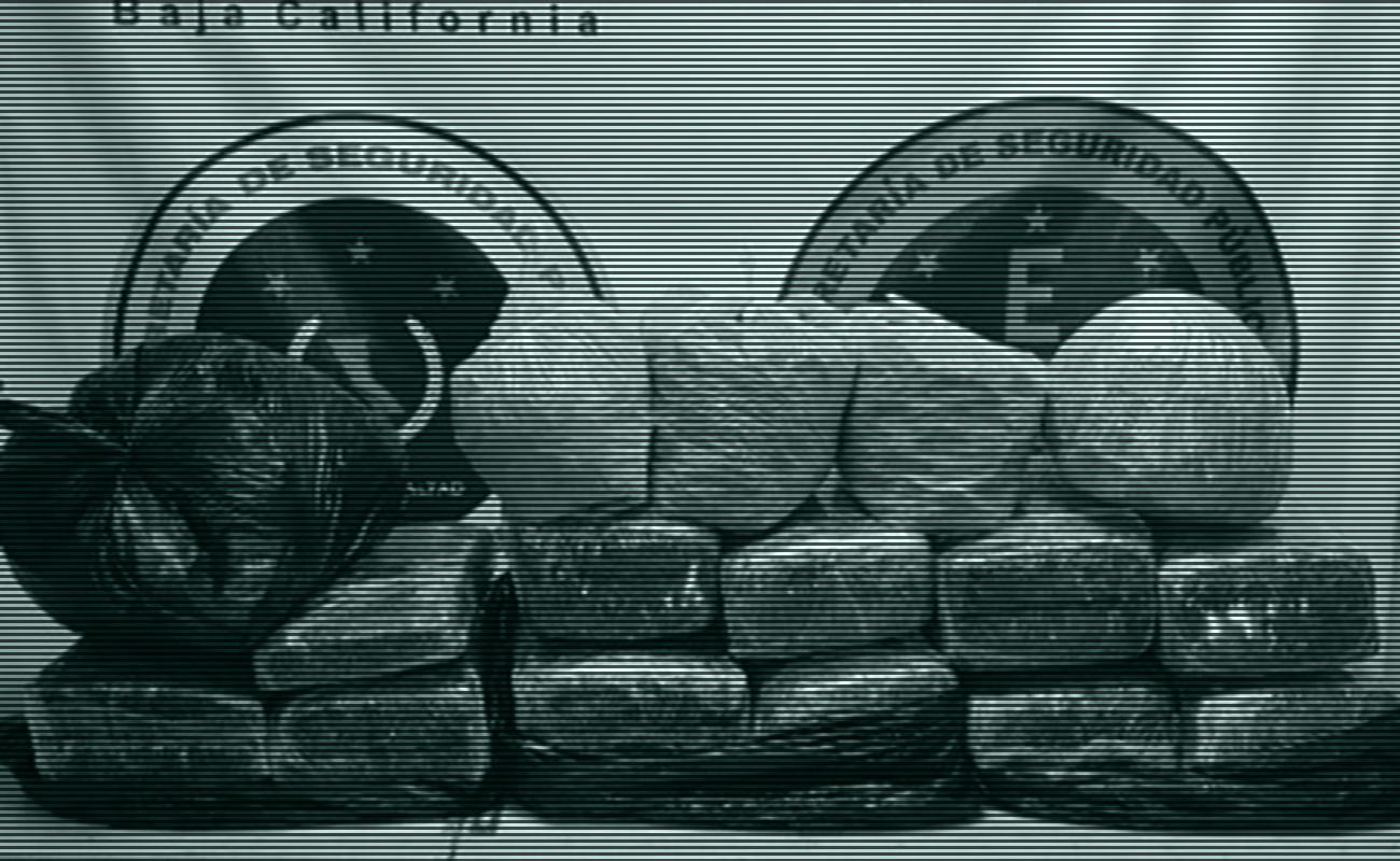Localizan 50 kilos de marihuana abandonados en la colonia Hidalgo