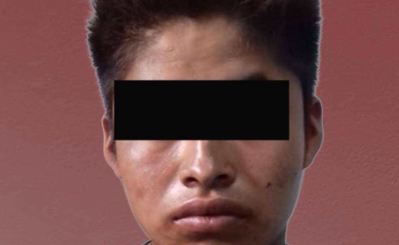 """Capturan a """"El Choky"""", acusado de violar a menor de 4 años de edad"""