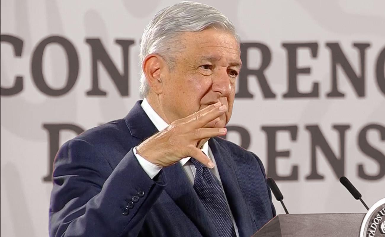 Enfrenta Romero Deschamps dos denuncias en la Fiscalía, confirma López Obrador