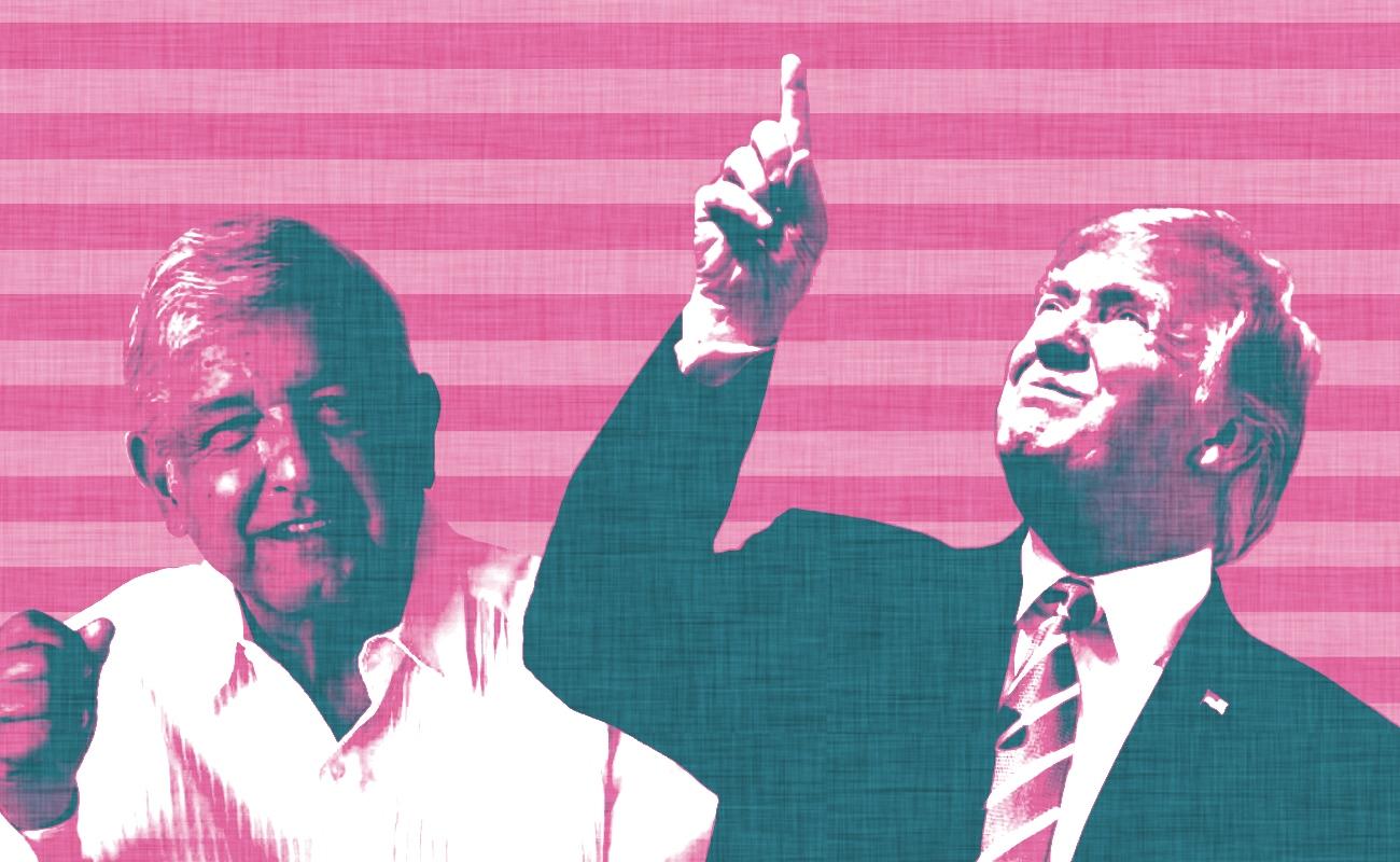 Trump felicita a López Obrador por asumir Presidencia de México