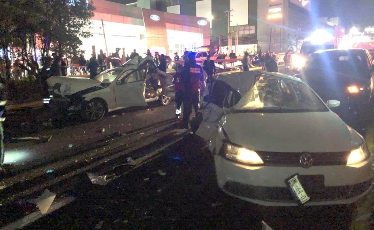 Tráiler conducido por mujer se queda sin frenos; nueve muertos y más de 40 heridos