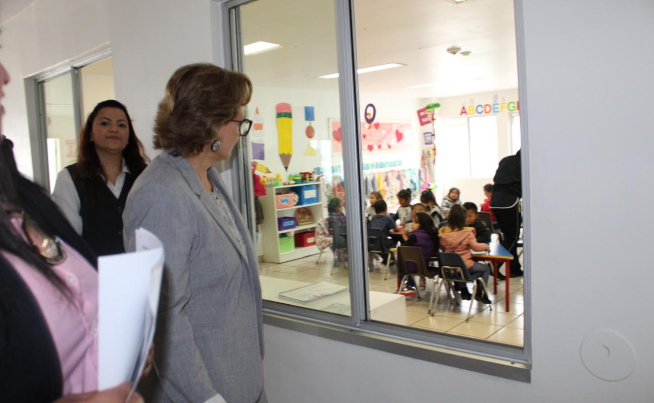 Reanudan servicio guarderías del IMSS en Baja California