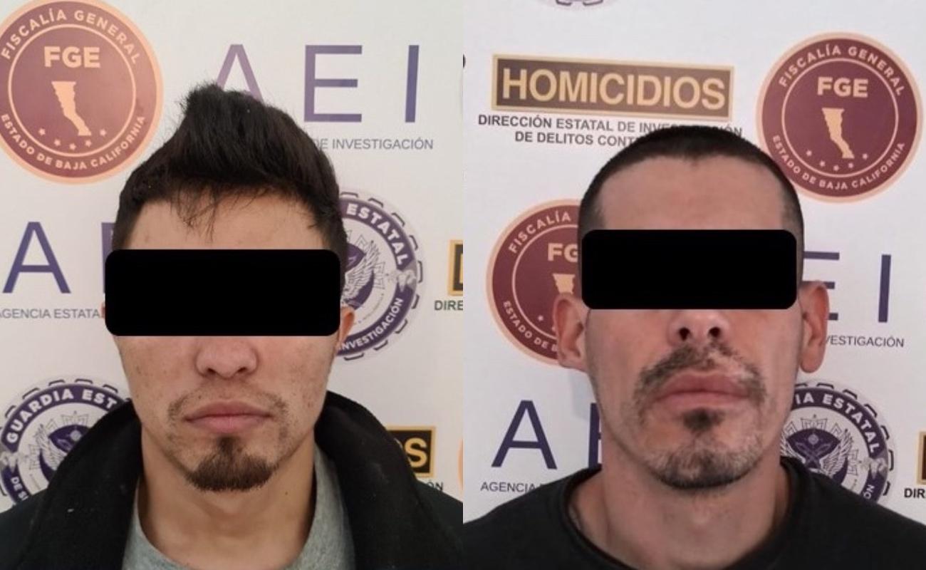 Detienen a dos presuntos homicidas de policías municipales