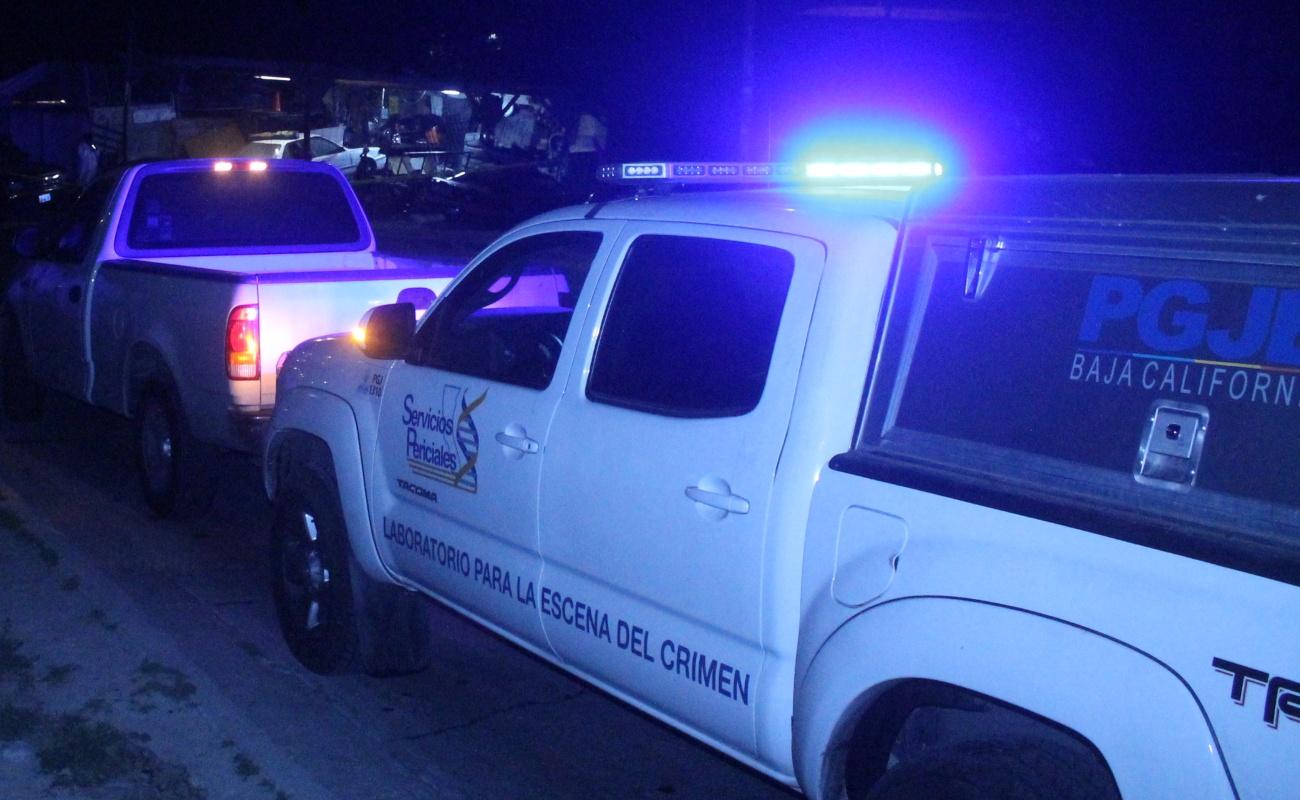 Identifica PGJE a víctimas de multihomicidio en Jacumé, Tecate