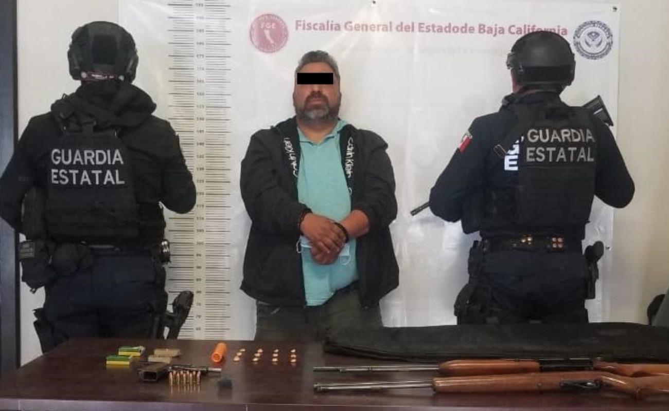 """Detienen en Tecate a """"El Aguacate"""" o """"H3"""", operador de un grupo criminal"""