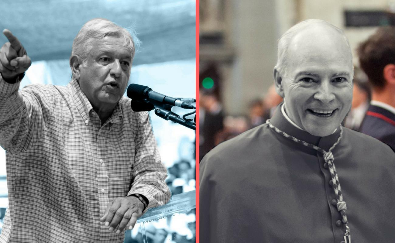 """Pide Iglesia Católica """"colaborar en paz"""" con López Obrador"""