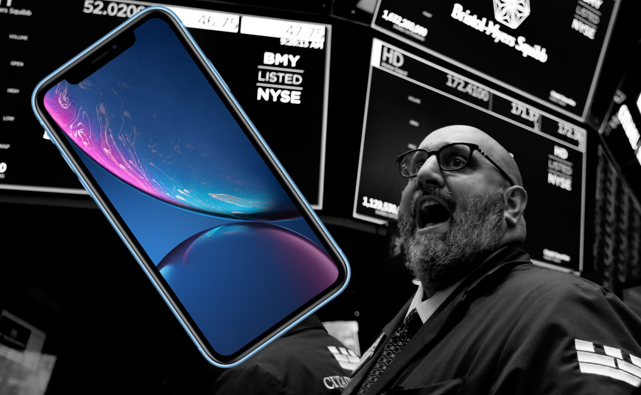 Apple hunde a Wall Street, al tener su peor día en la era iPhone