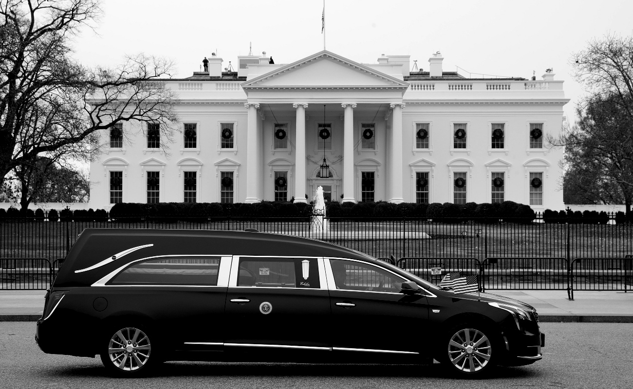 Despiden en Washington a George Bush