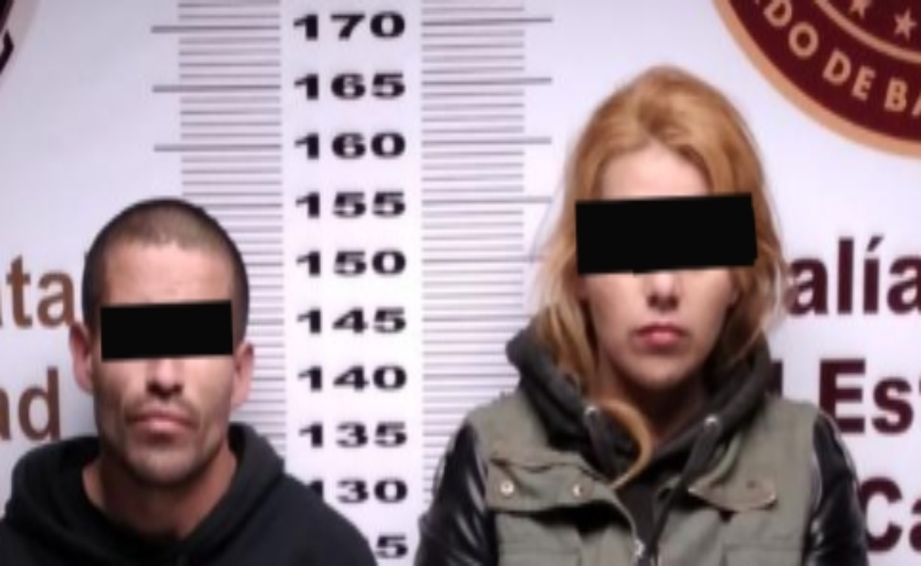 Arrestan a pareja con metanfetamina