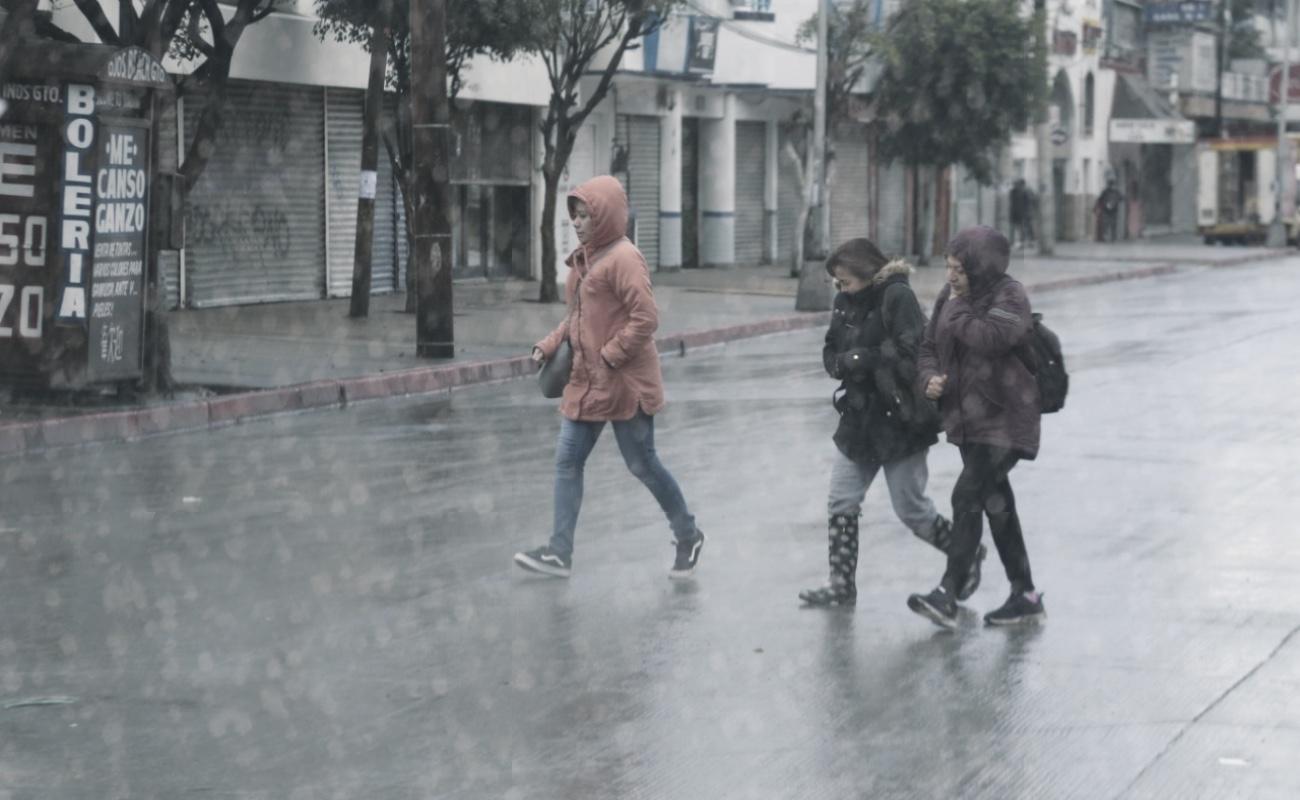 Tormenta invernal traerá lluvia y frío para este lunes en la región