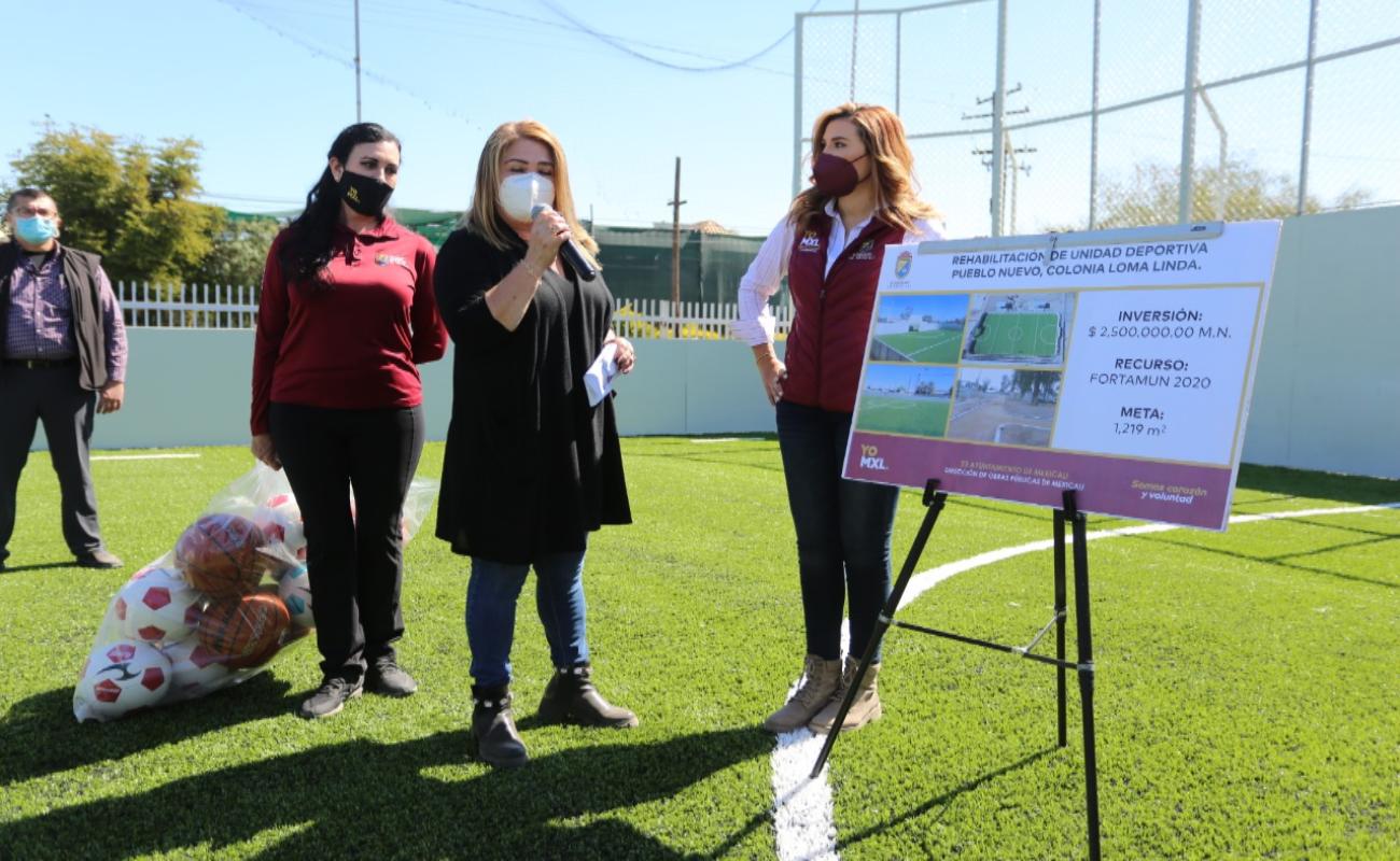 Apuesta Marina por más espacios deportivos para jóvenes