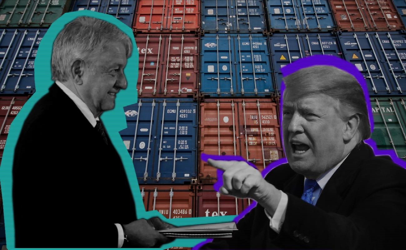 Éste fue el acuerdo y condiciones que puso EU a México para no aumentar aranceles