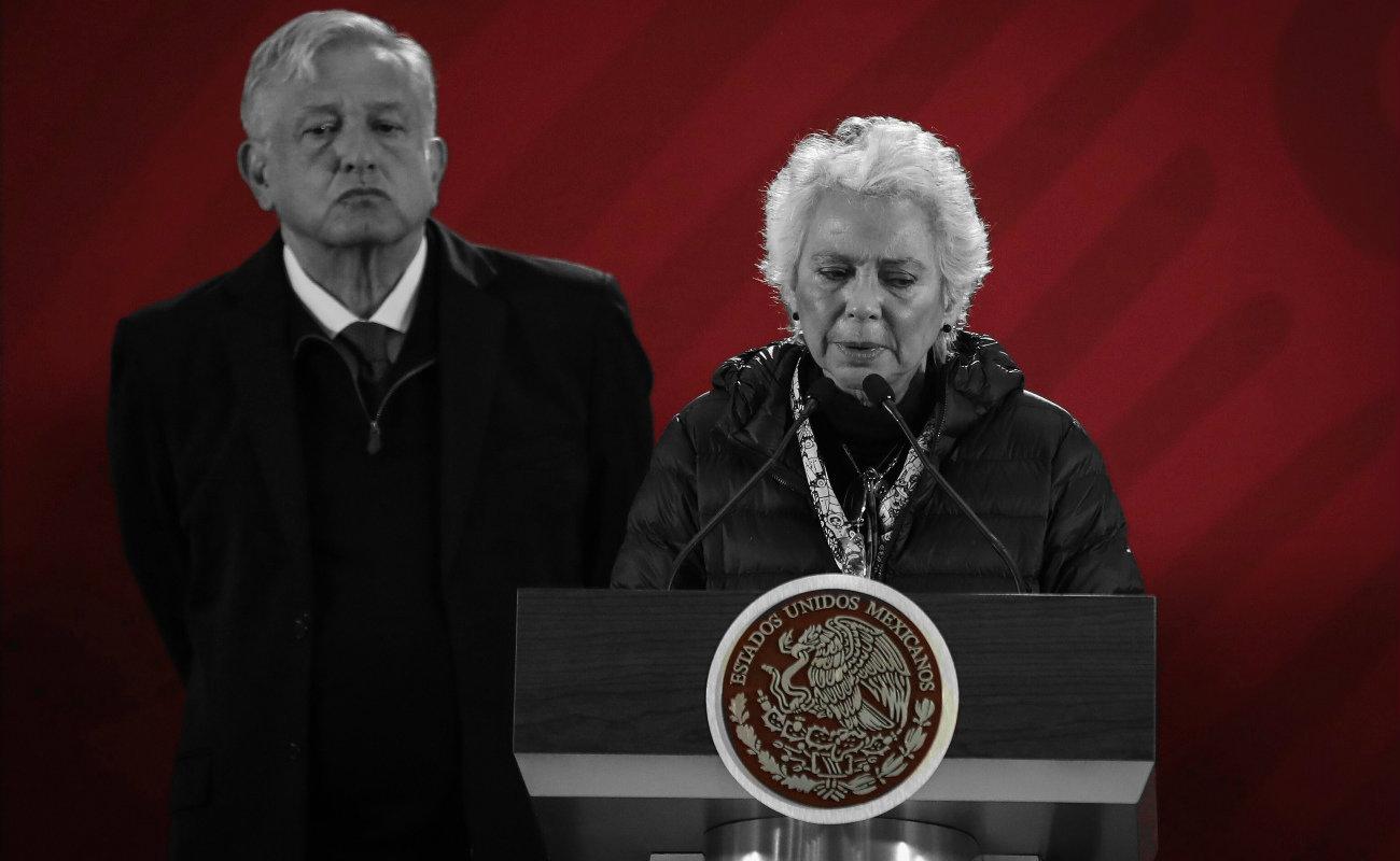 """Olvidaron"" declarar penthouse de Sánchez Cordero en EU; ella culpa a SFP"