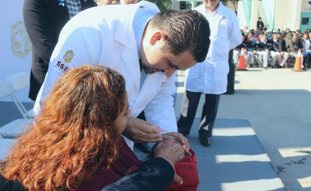 Realizan jornada de salud en la Preparatoria Federal Lázaro Cárdenas