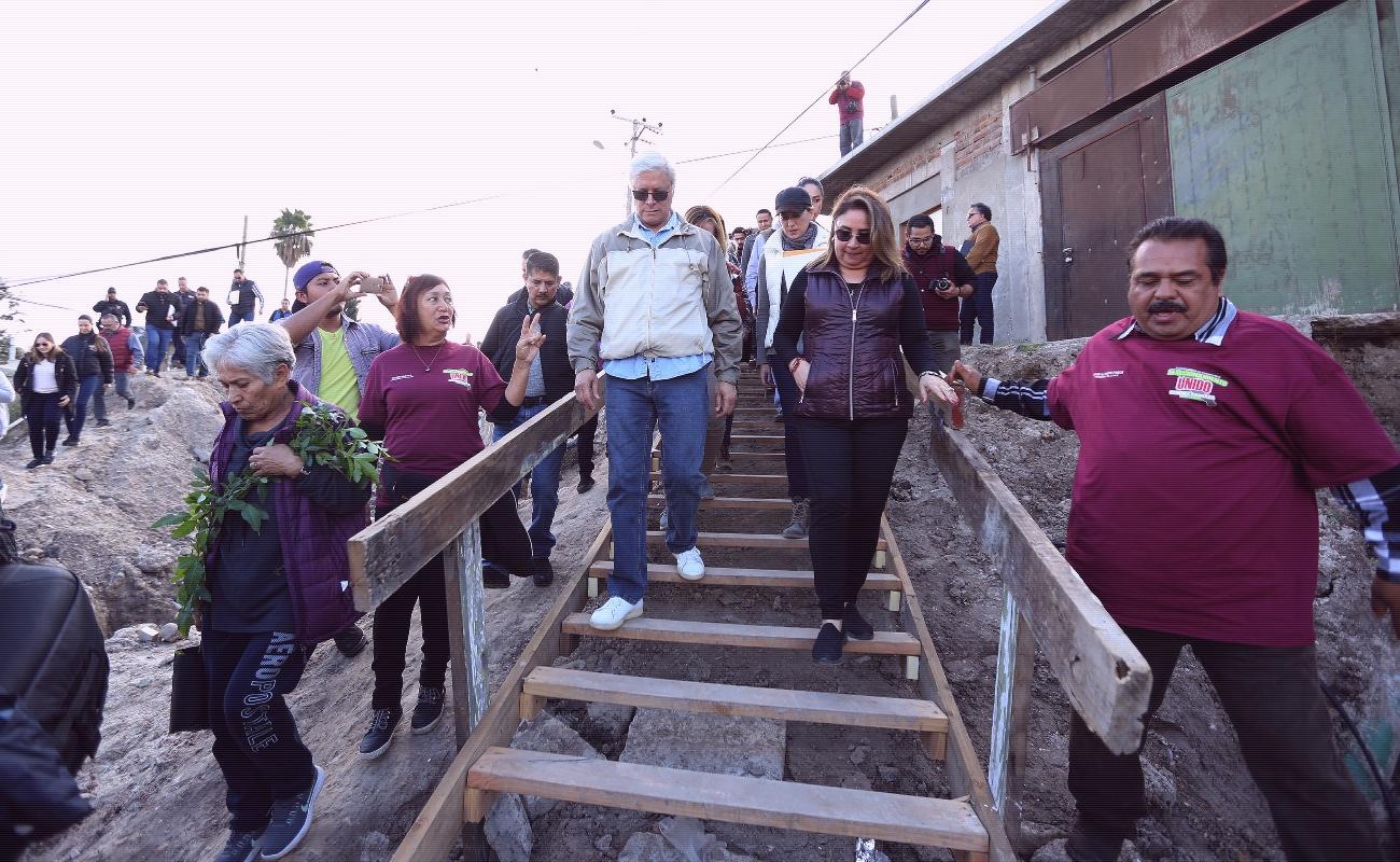 Llama Bonilla a desalojar viviendas en zona de riesgo en la Sánchez Taboada