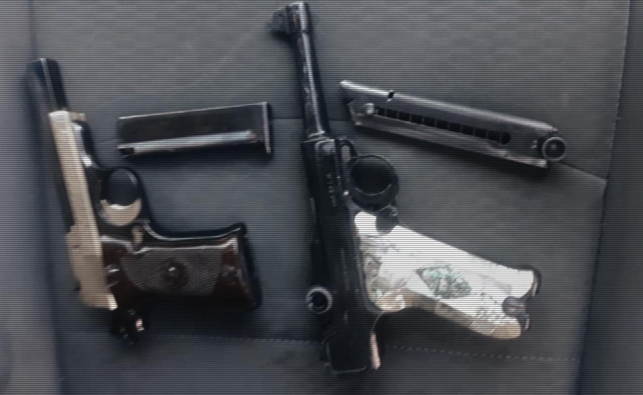 Policía Ministerial recupera armas robadas a militar retirado