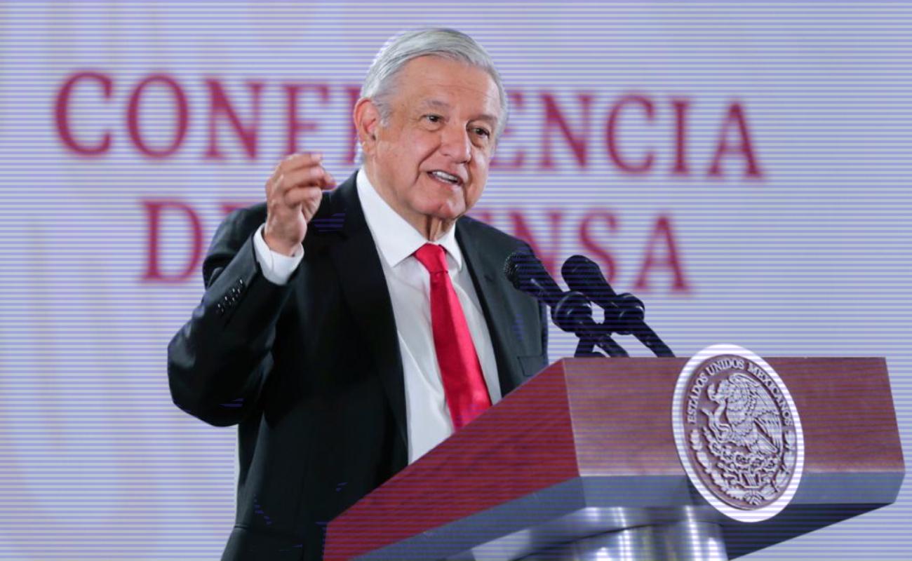 Garantiza López Obrador abasto de medicamentos contra el cáncer