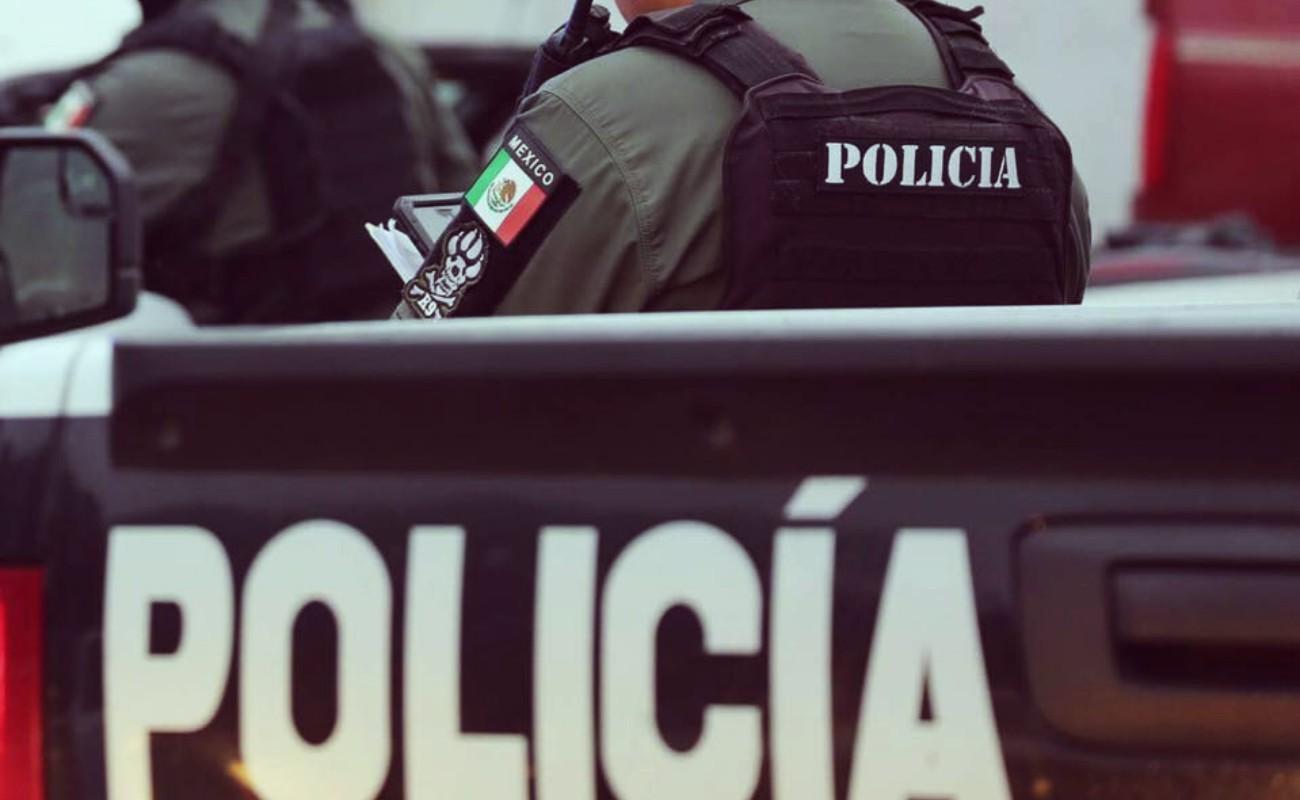 Disparan a policías durante operativo contra autos robados
