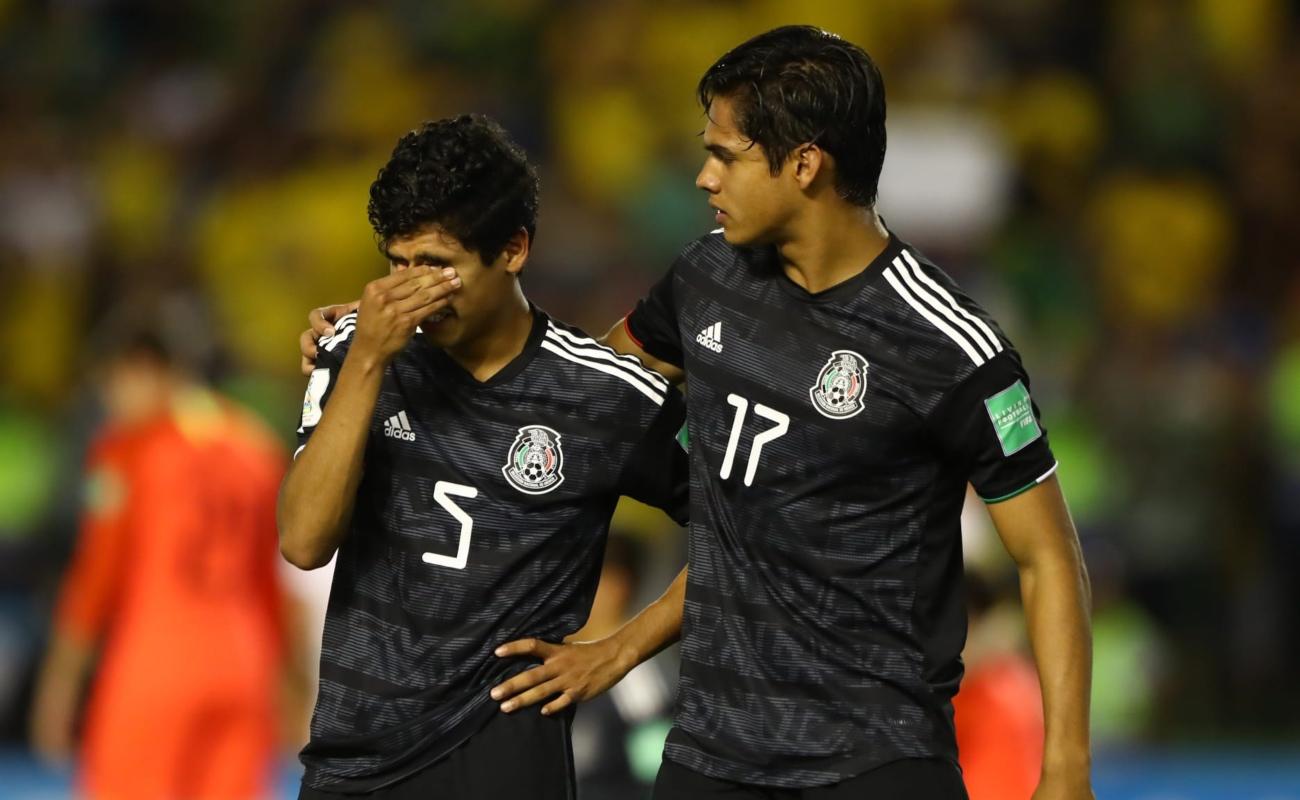 Polémico penal en la derrota de México ante Brasil en la final del Mundial Sub 17