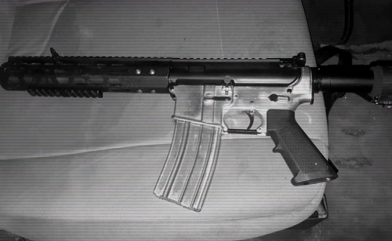 Se transportaban en su Honda con un fusil AR-15