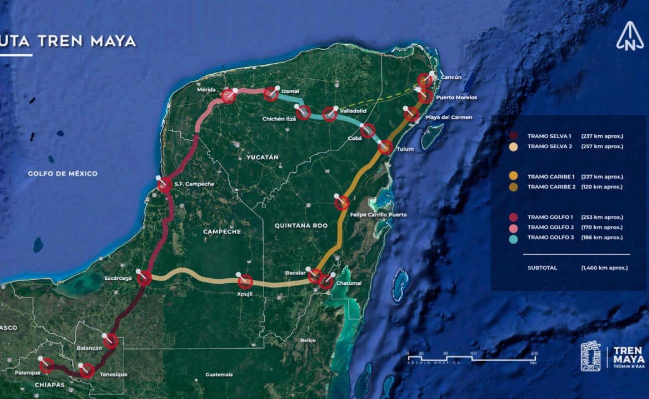 Consorcio Mota-Engil gana licitación del tramo 1 del Tren Maya