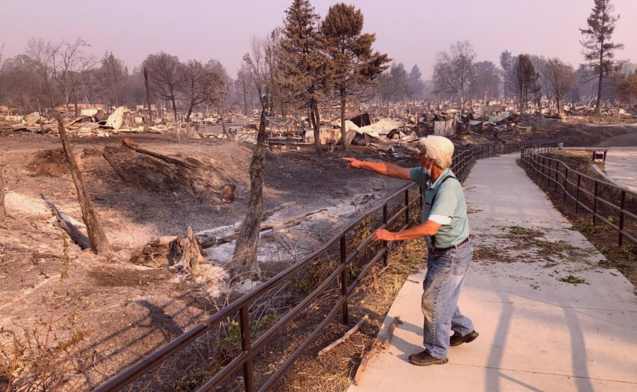 Medio millón de evacuados en Oregon por incendios forestales