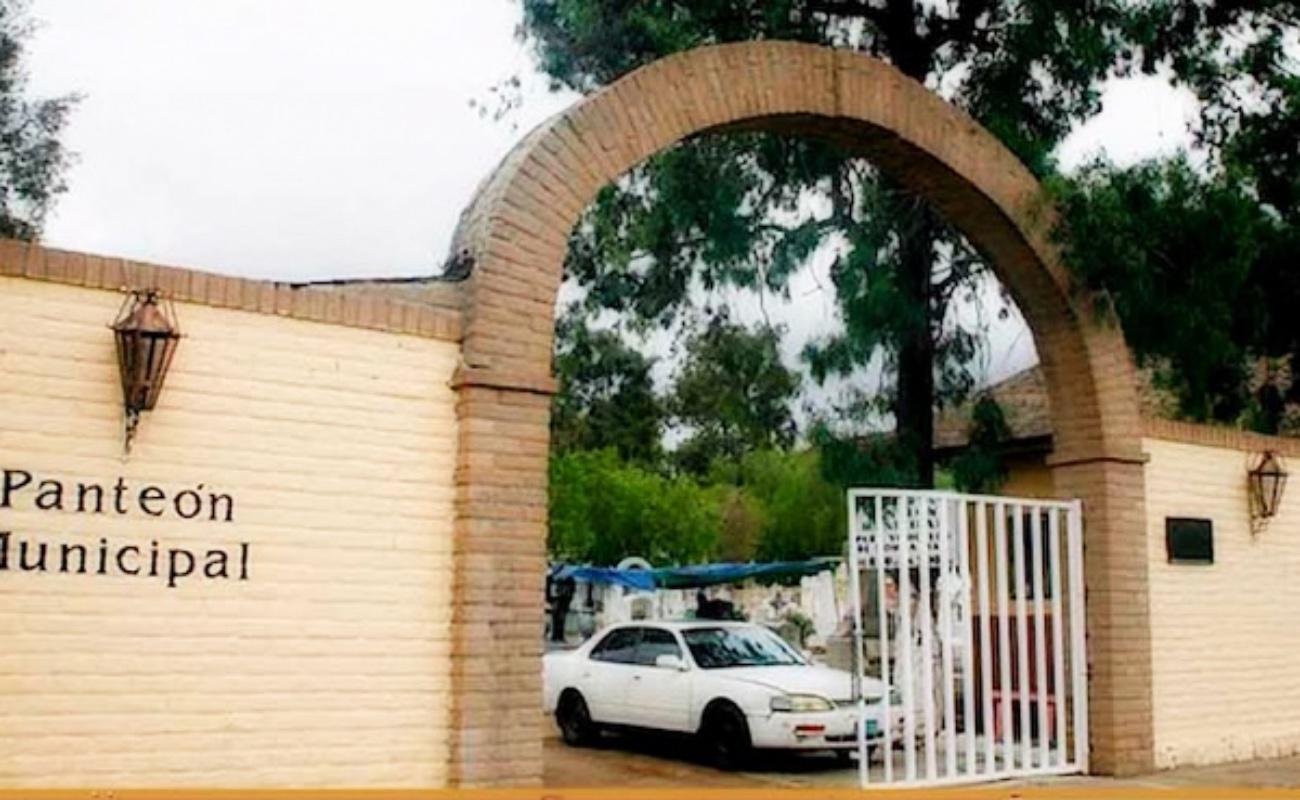 Permanecerán cerrados panteones municipales en Tecate