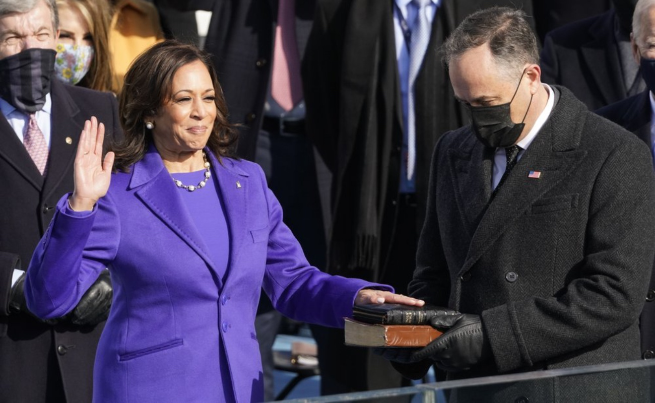 Kamala Harris se convierte en la primera vicepresidenta de Estados Unidos