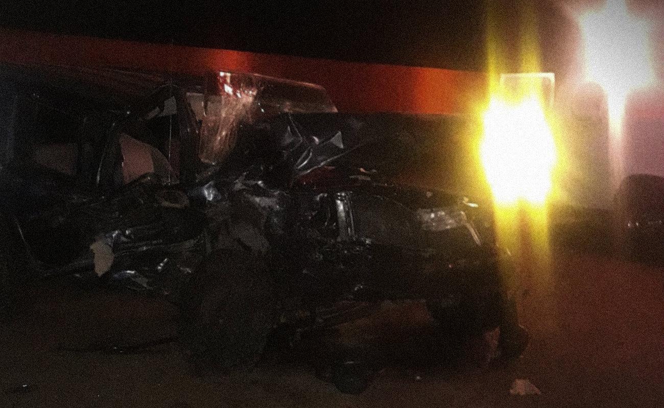 Mueren tres hombres y una mujer en par de choques al sur de Ensenada