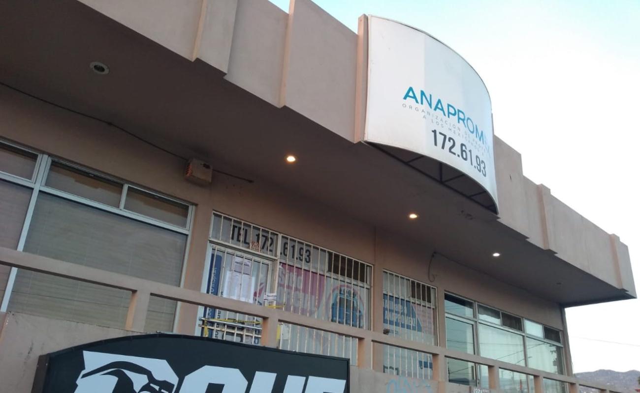 Asegura FGE cinco inmuebles de Anapromex en Ensenada