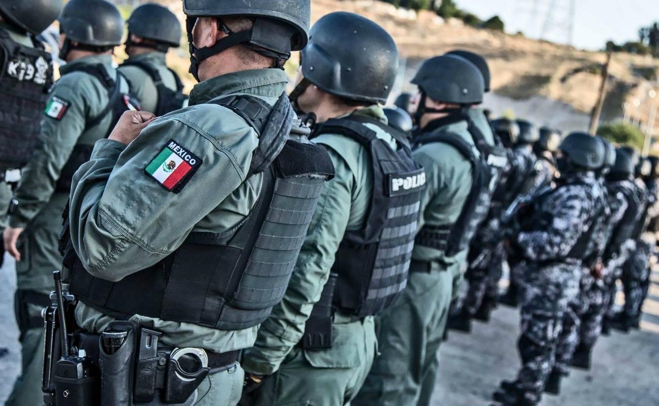 Solo tres estados en México tienen policías suficientes