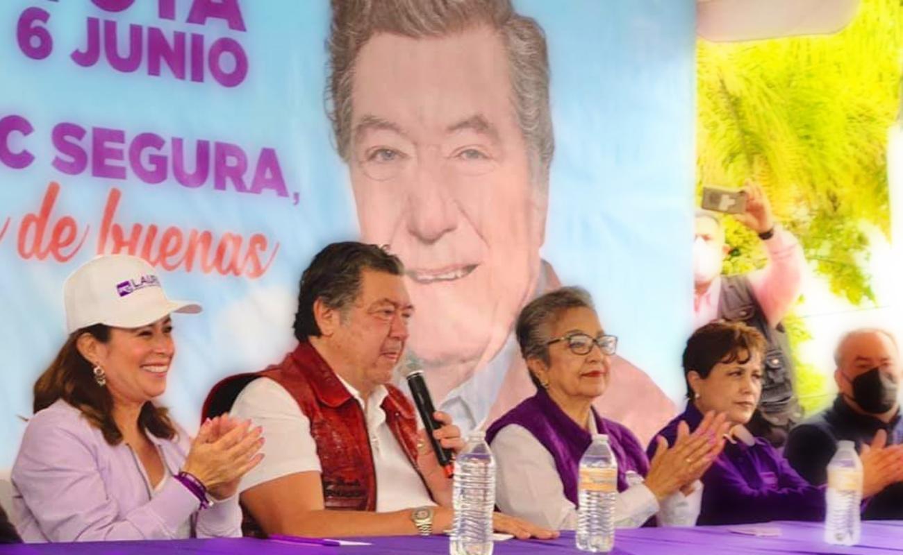 """""""Vamos a tapar todos los baches de Rosarito"""", acuerdan Laura Torres y Jorge Hank"""