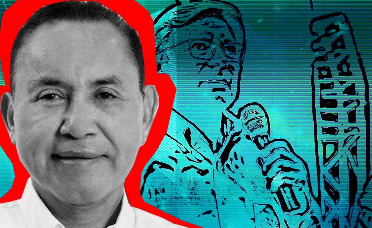 """""""Personalidad delincuencial"""" de Bonilla le da los votos al PRI: Acosta"""