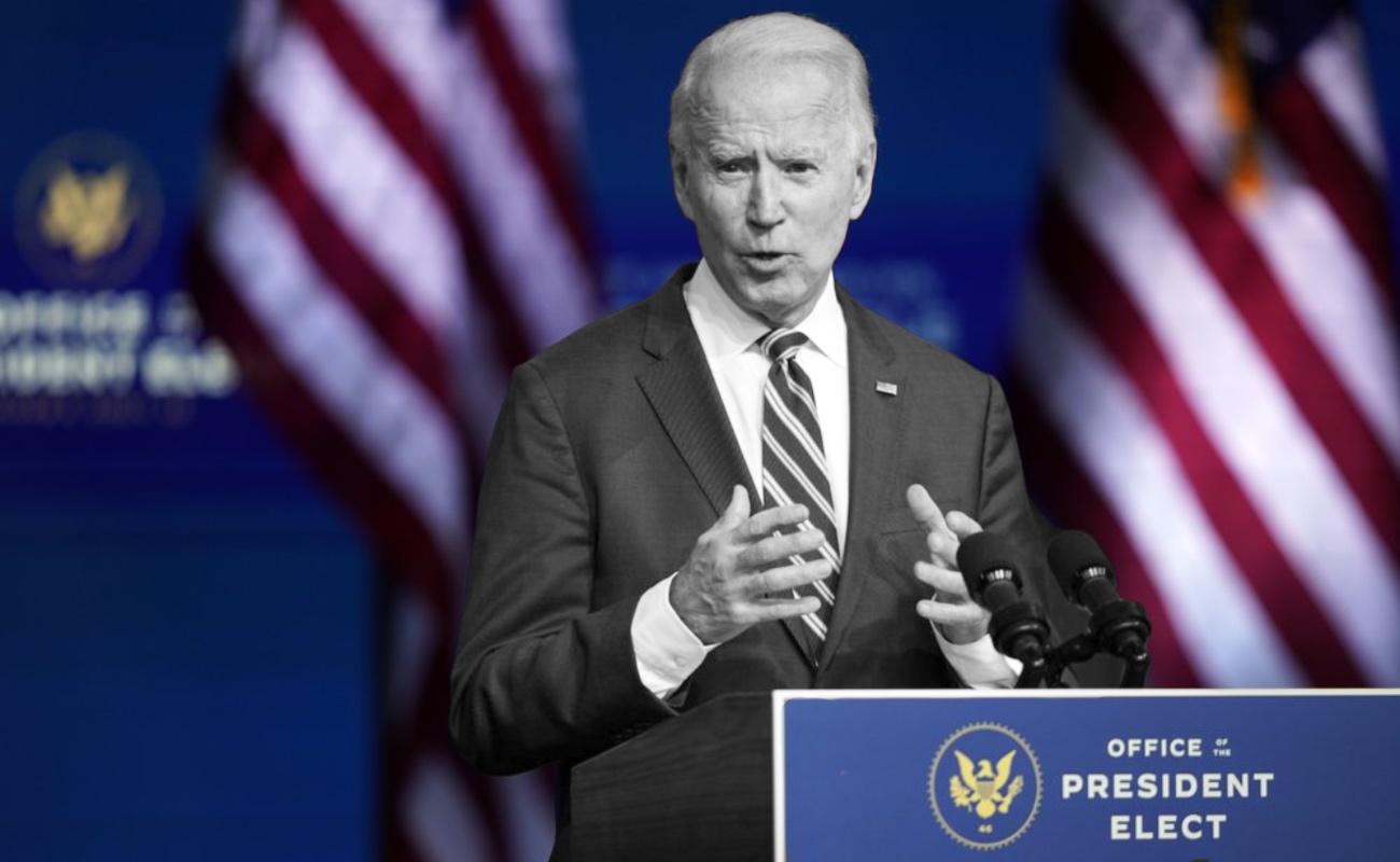 Pese al rechazo de Trump, Biden promete ponerse a trabajar