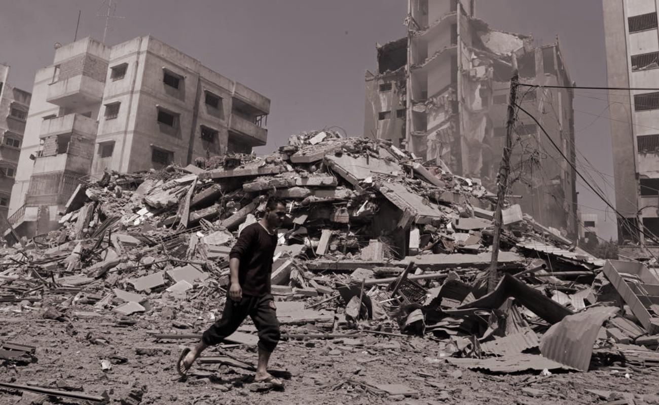 Bombardeo israelí en Gaza deja 42 muertos, 8 de ellos niños