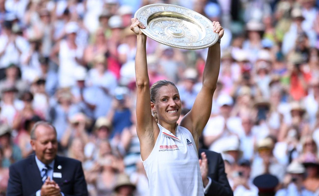 Kerber supera a Serena en la final de Wimbledon