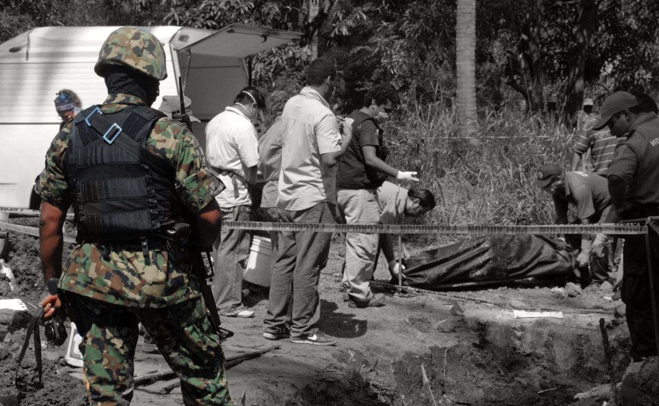 Localizan 222 fosas clandestinas en México en los últimos cinco meses